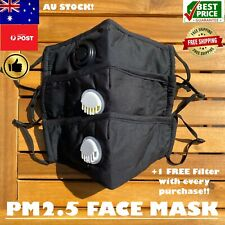 Cycling Reusable Face Mask 1Pc PM2.5 Filter Pocket Adjustable Anti Air Pollution