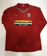 Nike Juventus Maglia Calcio Rossa Away Anno 2005/2006 Taglia L