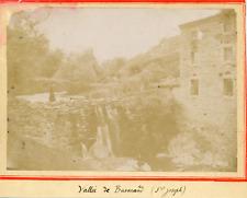 France, St-Joseph, Vallée de Busarand, ca.1900, vintage citrate print Vintage ci