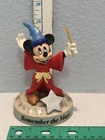 Walt Disney World - 25th Anniversary - Mickey - Sorcerer's Apprentice Figurine
