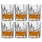 Whisky Drinking Glasses Wine Brandy Cognac Tumblers Glass Boxed Gift Set Of 6