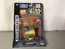 Star Wars Micro Machines Action Fleet Battle Packs #6 Dune Sea Galoob 1996 #57R