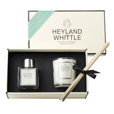 Greentea & Grapefruit Fragrance Diffuser & Candle Gift Set Heyland & Whittle