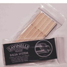 SAVINELLI 9mm BALSA PIPE FILTERS - 3 Packs/15each