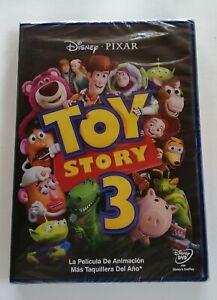 TOY STORY 3 - DVD - NUEVO - DISNEY - PIXAR - SECUELA - MUÑECOS 3 D - ANIMACIÓN