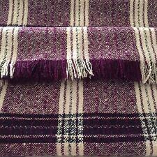 Donegal Tweed Blanket Throw Ireland Handwoven 62� x70�