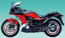 Dekorsatz Decals Kawasaki GPZ 750 Turbo (Unitrak) schwarz