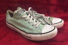 Converse All Star Women Lt Green Shoes Sneakers Low Top 9 40 Men 7