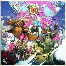 FLATBUSH ZOMBIES 3001 A Laced Odyssey Ltd Ed RARE NEW Litho Poster! Hip-Hop Rap