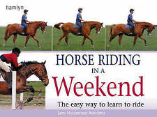 Horse Riding in a Weekend: The Easy Way to Learn to Ride by Jane Holderness-Rodd