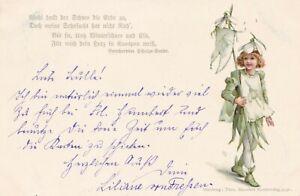 Ellen Jessie Andrews  Snowdrop girl. c. 1898