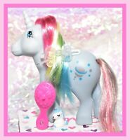 ❤️My Little Pony MLP G1 Vtg ITALY Italian Variant Rainbow Moonstone NIRVANA❤️