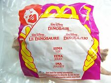 2000 McDonalds Happy Meal Fast Food Premium Dinosaur Eema #7 Toy Sealed MIP C10!