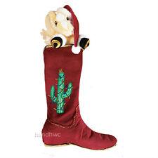 Breyer 701901 Western Boot Stocking Pal-o-Mine Plush Horse Christmas Holiday NIP