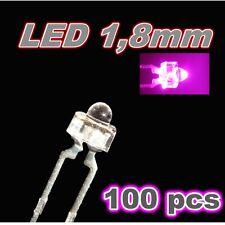 301/100# LED rose 1,8mm 100pcs --- 750mcd -- pink LED
