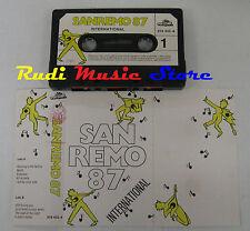 MC SANREMO 87 INTERNATIONAL 1987 LEVEL 42 PET SHOP BOYS WHITNEY HOUSTON no cd lp