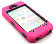 Heavy Duty Builders Workman Rose Colour Armour Case for iPhone 4 & 4S