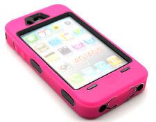 résistant pour Ouvriers rose couleur CAS DE BLINDAGE POUR IPHONE 4 & 4S