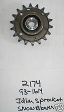 Wheel Horse Snowthrower Snow Blower Idler Sprocket #2174 or 93-1614