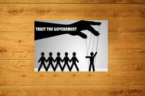 Trust The Government Sticker Packs (10-100) - Pro Freedom Resist Stop Tyranny