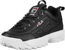 Fila Disruptor - Schoenen Man Woman Black Sneakers