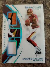 Dwayne Haskins 2019 Immaculate Triple Patch Jersey RC /5 Redskins !!!!