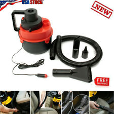 US 12V Wet Dry Vac Vacuum Cleaner Inflator Portable Turbo Hand Held For Car Home