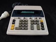 Vintage Canon Canola L1217 Blue Display Desk  Calculator Japan