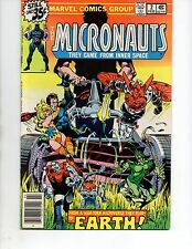 MICRONAUTS #2 (marvel 1979) VF/NM