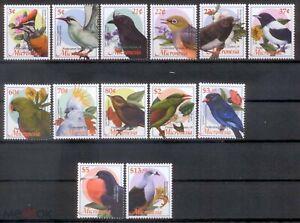 Micronesia 2002 birds  fauna set 13v MNH