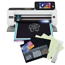 Brother Die Cutting Machine Electronic Cutter w/ Rhinestone Trial Kit -DIY Paper