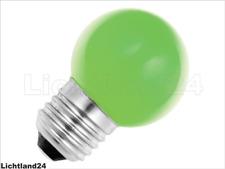 E27 - 1,5 Watt LED Color Ball bunte Tropfenlampe GRÜN verglb. 15W Glühlampe