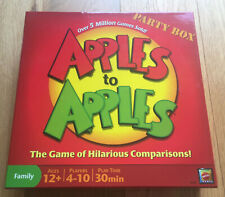 Mattel Apples To Apples Hilarious Comparisons Card Board Game