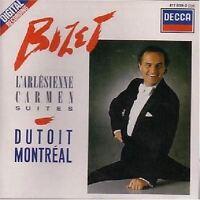 Bizet L'Arlesienne Carmen Suites [CD] Dutoit Montreal (0945) decca west germany