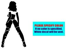 """Hot Sexy Girl Woman PinUp #080 Vinyl decal sticker Graphic Die Cut Car Truck 7"""""""
