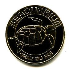 30 LE GRAU-DU-ROI Seaquarium, Tortue, 2015, Monnaie de Paris