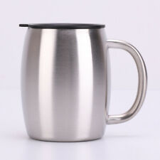 Portable Stainless Steel Coffee Beer Tea Water Cup Double Wall Mugs Fitness