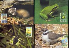 WWF Lichtenstein  MI. 967-970  MK (7447