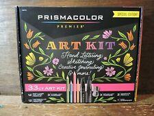 NEW 33ct Special Edition PRISMACOLOR PREMIER ART KIT Pencils Markers Sharpener