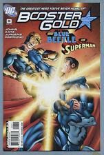 Booster Gold #8 2008 [Blue Beetle, Superman] Dan Jurgens DC m