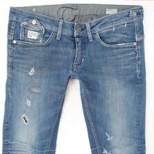 Ladies Womens G-Star DECENTER TAPERED WMN Stretch Blue Jeans W32 L34 UK Size 12