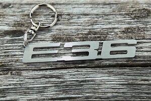 BMW E36 keychain stainless steel car keyring touring coupe Schlüsselanhäng