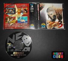 JUEGO NEO GEO CD FATAL FURY 3   SNK NEO GEO AES