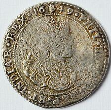 Taler Ducaton Silbermünze 25,6 g Silber Münze Belgien Brabant Philipp IV. 1649