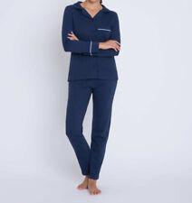 V1 Designer Pyjama mit Kontrastpaspel