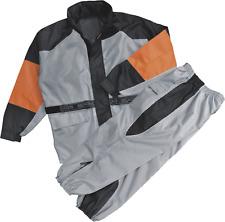 Milwaukee Leather Men's Rain Suit Black / Silver 3XL #UU186-M931