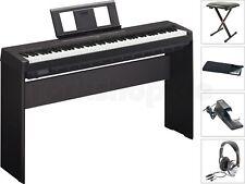 Yamaha P45 B Digital E-Piano Klavier MEGA SET mit L85 Holzgestell + Kopfhörer