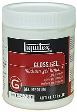 Liquitex Professional Gloss Gel, Medium, 8 Ounce, New, Free Shipping