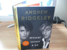 Andrew Ridgeley hand Signed Wham! George & Me 1st/1st Michael 1980's pop fame