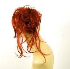 postiche chouchou chignon cheveux cuivré intense ref: 22 en 350